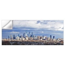 Buildings in a city, Comcast Center, Center City,  Wall Decal