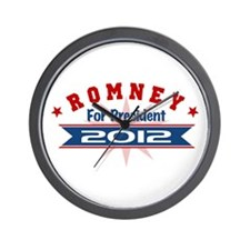 Mitt Romney President 2012 Wall Clock