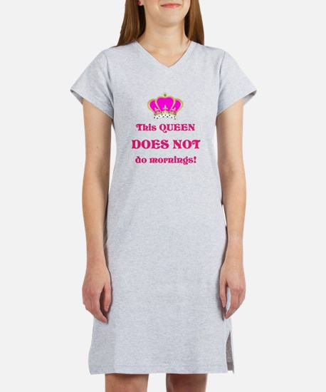 DOES NOT Do Mornings Nightshirt