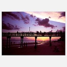 Pier on the beach, Fort Myers Beach, Estero Island