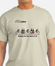 Cycling T Shirt - Riding for the ALE of it