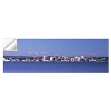 City viewed from Presque Isle State Park Lake Erie Wall Decal