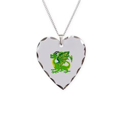 Great Green Dragon Necklace