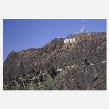 Hollywood sign on a hill Hollywood Hills Hollywood