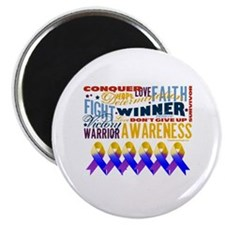 "Powerful Bladder Cancer 2.25"" Magnet (100 pack)"