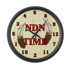 NDN Time Large Wall Clock