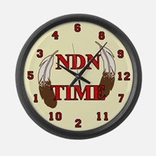 NDN Time Large Wall Clock
