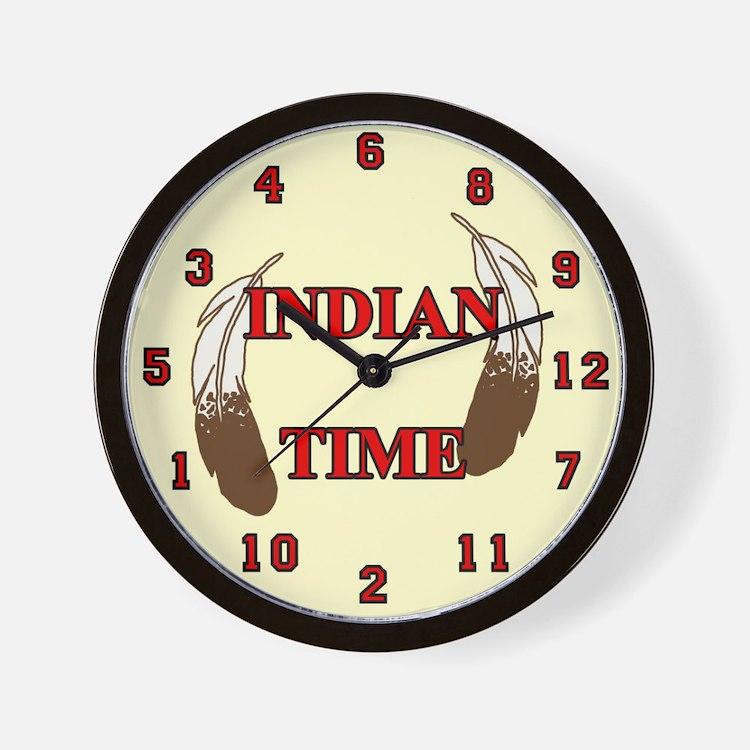 American Indian Clocks | American Indian Wall Clocks | Large