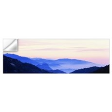 Sunset Sequoia National Park CA Wall Decal