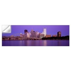 Allegheny River Pittsburgh PA Wall Decal