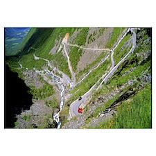 Trolls Road Romsdal Norway