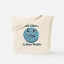 Cute Waffle Tote Bag