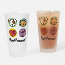 Wine 4 Paws Drinking Glass