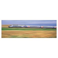 Train TVG France Poster