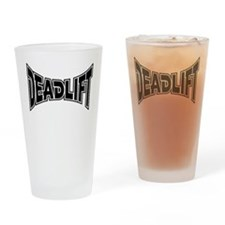 Deadlift! Drinking Glass