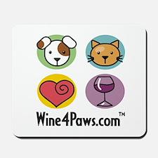 Wine 4 Paws Mousepad