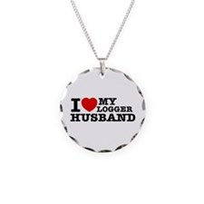 I love my Logger Husband Necklace