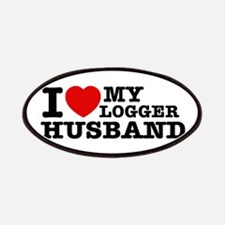 I love my Logger Husband Patches