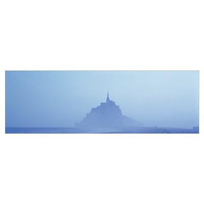 Mont St Michel Normandy France Poster