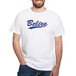 Retro Belize White T-Shirt