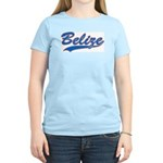 Retro Belize Women's Pink T-Shirt