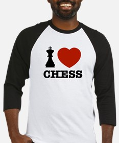 I love Chess Baseball Jersey