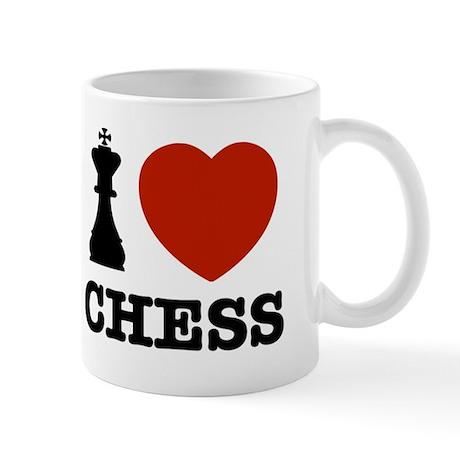 I love Chess Mug