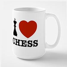 I love Chess Large Mug