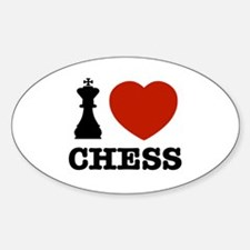 I love Chess Decal