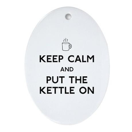 Keep Calm Ornament (Oval)