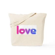 bisexual/love Tote Bag