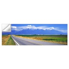 Highway 212 Mission Mountains Flathead Valley MT Wall Decal