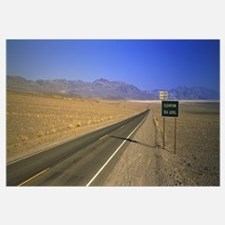 Desert Road Death Valley CA