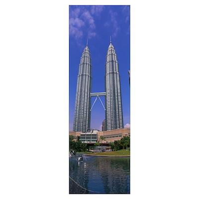 Petronas Twin Towers Kuala Lumpur Malaysia Poster