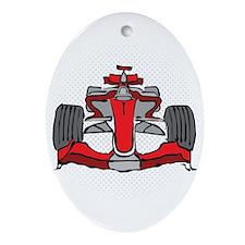 Formula 1 Ornament (Oval)