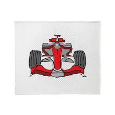 Formula 1 Throw Blanket