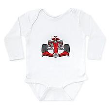 Formula 1 Long Sleeve Infant Bodysuit