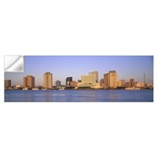 Sunrise Skyline New Orleans LA Wall Decal