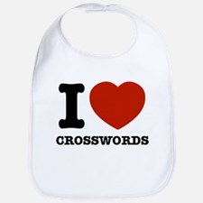 I love Crosswords Bib