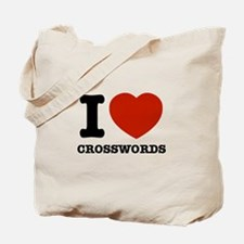 I love Crosswords Tote Bag
