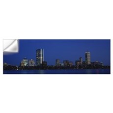 Buildings on the waterfront, Boston, Massachusetts Wall Decal