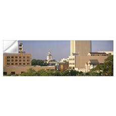 Capitol Building Skyline Tallahassee FL Wall Decal