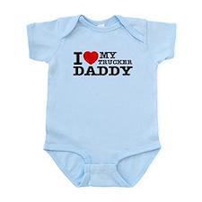 I love My Trucker Daddy Infant Bodysuit