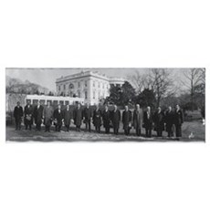 President Coolidge White House Washington DC Poster