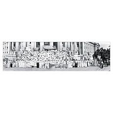 Suffrage Women Washington DC Poster
