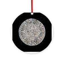 Mayan Calendar Ornament (Round)