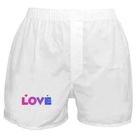 bisexual love Boxer Shorts