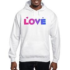 bisexual love Hoodie