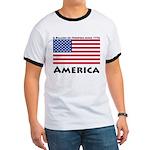 America Freedom Ringer T