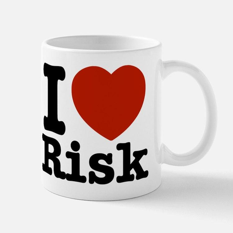 I love Risk Mug